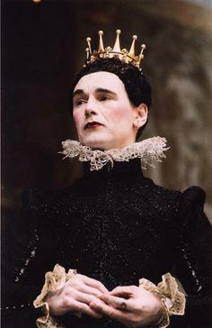 Mark Rylance as Olivia, Twelfth night