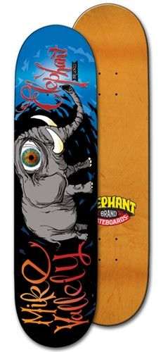 Elephant Brand Skateboards - Mike V.: Natas Street 8.25 Deck