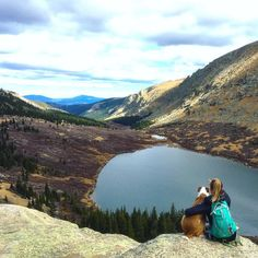 Soaking up these views with @henrythecoloradodog before we head back down!  Life doesn't get much better than this. Photo Cred: @globalgator #EddieBauer #ColoradoHikes #ColoradoGirl #MountainGirl #MountainLocals #ChicagoLakes #TheMountainsAreCalling #ColoradoLove #GetAboveItAll #LiveYourAdventure #OuterWhere #Coloradotography by cynthiabennett