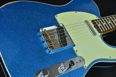 This Fender Custom Shop 62 Tele will transport you right back to the golden era for the worlds most popular solid body guitar builder This Blue
