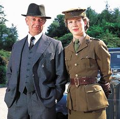Foyle's War -- probably the best television series ever.  Honeysuckle Weeks and Michael Kitchen