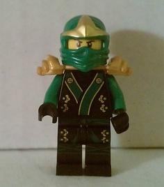 Lego NINJAGO New Minifig LLOYD ZX Green Ninja Figure RARE Exclusive Black Robes on eBay! $19.99