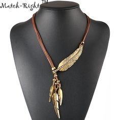Cheap women accessories, Buy Quality rope chain necklace directly from China statement necklace Suppliers: Match-Right Necklace Alloy Feather Statement Necklaces Pendants Vintage Jewelry Rope Chain Necklace Women Accessories Braided Necklace, Feather Necklaces, Rope Necklace, Necklace Types, Pendant Necklace, Statement Necklaces, Necklace Ideas, Jewelry Necklaces, Diy Jewelry