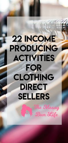 22 income producing activities for direct sellers #directsales #lularoe #paisleyraye