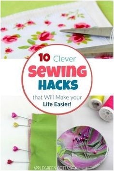 Incredibly simple but so effective sewing hacks! They will help making your sewing projects easy and quick. #sewingtips #sewinghacks #hacks #sewing #easysewing #sewingprojects #beginnersewing #learntosew #sew #lifehacks