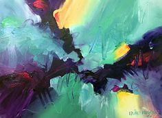 Saltwater 13 by David Kessler Acrylic ~ 22 x 30