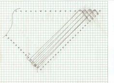 Diagonal warp/weft for triangle loom