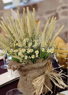 Rustic Wheat Wedding Ideas Tasting Day at The Ashes Table Decoration Wedding, Wedding Table Centerpieces, Flower Centerpieces, Centerpiece Ideas, Wheat Wedding, Wedding Day, Trendy Wedding, Wedding Parties, Budget Wedding