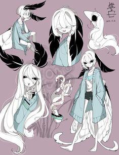 Embedded art et illustration, character creation, character concept, art inspo, character inspiration Fantasy Character Design, Character Design Inspiration, Character Art, Character Creation, Character Concept, Concept Art, Anime Kunst, Anime Art, Cute Drawings