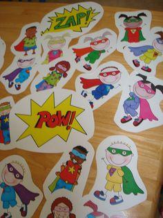 Need a change? How about a Superhero classroom theme?