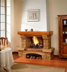 Chimeneas ideas decorativas para tu casa decoraci n chimeneas trucos y consejos navidad - Chimeneas artificiales decorativas ...