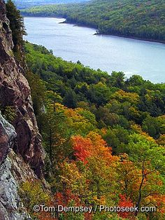Lake of the Clouds - Porcupine Mountains in the U.P. of Michigan. So wonderful!