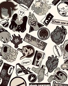 Man Wallpaper, Manga, Chainsaw, Cool Art, Anime Art, Weird, Sci Fi, Illustration Art, Character Design