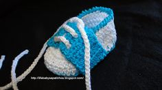 Booties For Baby - Baby Life: Step by Step on Crochet Booties (sapatênis)
