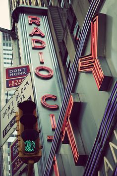 Radio City, New York Vintage by Randy Le'Moine Photography, via Flickr
