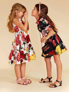 ALALOSHA: VOGUE ENFANTS: New Season SS'18: Dolce&Gabbana kids