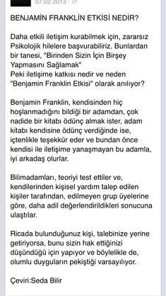 Benjamin Franklin etkisi