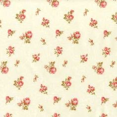Sweet  rosebuds could make a lovely accent fabric