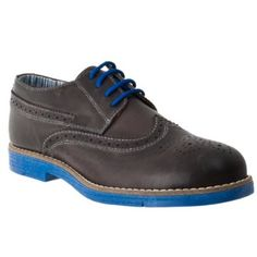 Steve Madden Mens Jazzman Leather Oxford Wing Tip Dress Shoes (More colors available) - Price: $83.99