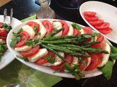 Fresh, seasonal asparagus take center stage in this versatile spring dish.   This looks so good!