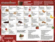 Yummy Chocolate Shakeology smoothie recipes!