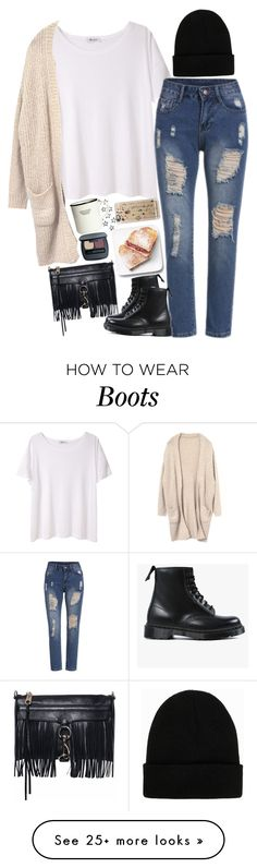 """Untitled #2401"" by sisistyle on Polyvore featuring T By Alexander Wang, Rebecca Minkoff, Dr. Martens, NLY Accessories, Casetify and H&M"