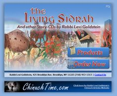 Story-CDs by Rabbi Levi Goldstein-- amazing educational and chassidish cds for children