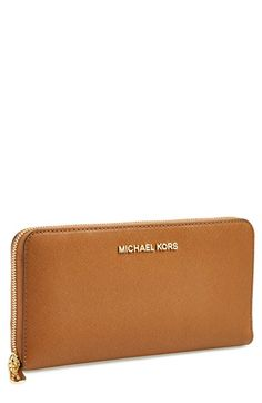 MICHAEL Michael Kors 'Jet Set' Travel Wallet available at #Nordstrom