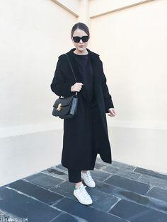 Trini | MaxMara Manuela coat - Céline classic box bag