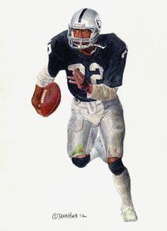 Marcus Allen - done with watercolors and colored pencils...