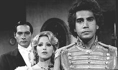 Pierina España,Jose Luis Rodriguez y Jean Carlos Simancas en la telenovela Sangre Azul,trasmitida por RCTV en los años 80s