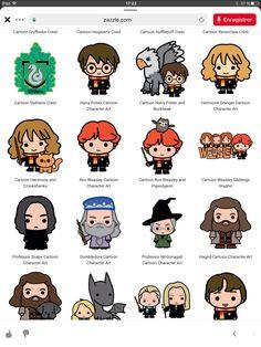 Harry Potter Nails, Harry Potter Cartoon, Harry Potter Stickers, Harry Potter Printables, Cute Harry Potter, Harry Potter Artwork, Harry Potter Drawings, Harry Potter Characters, Harry Potter Classroom