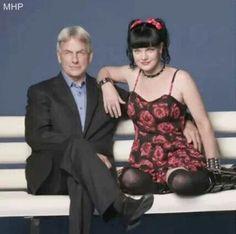 TV Guide Photo Shoot - November of 2012 // NCIS Season 10 ~ Mark Harmon and Pauley Perrette