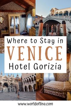 If you don't know where to stay in Venice, check out the Hotel Gorizia with the perfect location near Rialto Bridge and St. Mark's Square. #venice #venezia #italy #europe | Venice Hotels | Venice Accommodation | Travel to Venice | Italy Travel Italy Travel Tips, Europe Travel Guide, Travel Abroad, Europe Destinations, Hotels And Resorts, Best Hotels, Venice Italy Hotels, Ukraine, Things To Do In Italy