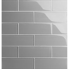 Gray Subway Tile Backsplash, Grey Subway Tiles, Subway Tile Kitchen, Glass Subway Tile, Glass Tiles, Backsplash Ideas, Glass Backsplash Kitchen, Peal And Stick Backsplash, Shower Backsplash