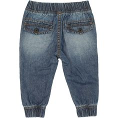 The Dymples Cuff Chino Pant strikes the perfect balance between sporty and casual. These cool cotton-blend jogger pants are designed for a slouchy tapered fit through the ankle and finished with a secure shoelace drawstring to fasten the waist. This blue denim pair are a fresh and fun alternative to his usual jeans and will look great with all of his tees and jumpers