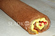 Dvojitá roláda s rumovou polevou – Hančiny Sladkosti.net Hot Dog Buns, Hot Dogs, Bread, Food, Brot, Essen, Baking, Meals, Breads
