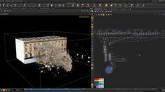 #Houdini Demolition Process #tutorial #vfx #demo #sidefx