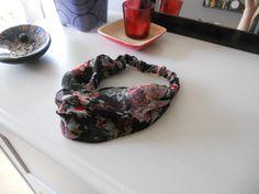 Black wrap headband