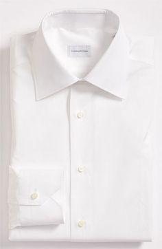 Ermenegildo Zegna Tailored Fit Dress Shirt | Nordstrom