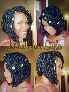 15 photos that prove bob box braids are the hottest new protective style trend crochet style