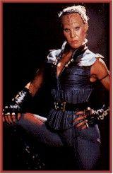 Vixis, Klingon from Star Trek.