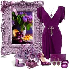 """""""More Purple"""" by diane-shelton on Polyvore"""