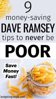 Best Money Saving Tips, Ways To Save Money, Money Tips, Saving Money Plan, Money Saving Hacks, Save Money On Groceries, Dave Ramsey, Planning Budget, Financial Planning