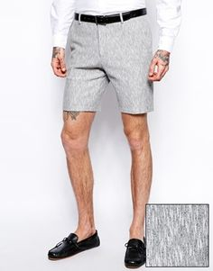 ASOS+Slim+Fit+Shorts+In+Jersey