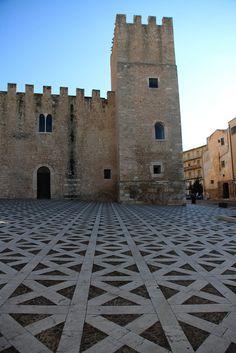 Castello dei Conti di Modica Alcamo, Sicily