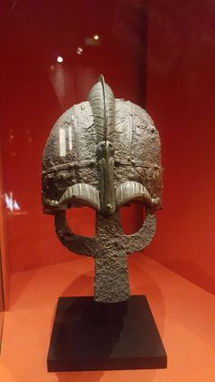 Viking Helmet at the Historical Museum #Sweden #Stockholm #Viking #vikings #Helmet #vikinghelmet
