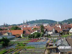 Teil des Weltkulturerbes - die Gärtnerstadt in Bamberg