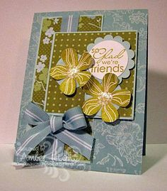 So glad we're friends! by AmberDawn - Cards and Paper Crafts at Splitcoaststampers