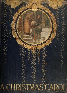 """""""A Christmas Carol"""" By Charles Dickens & Illustrated By A C Michael (1911) Published By Hodder & Stoughton"""